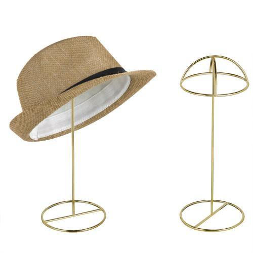 Brass-Tone Wire Tabletop Hat Stands, Set of 2 - MyGift