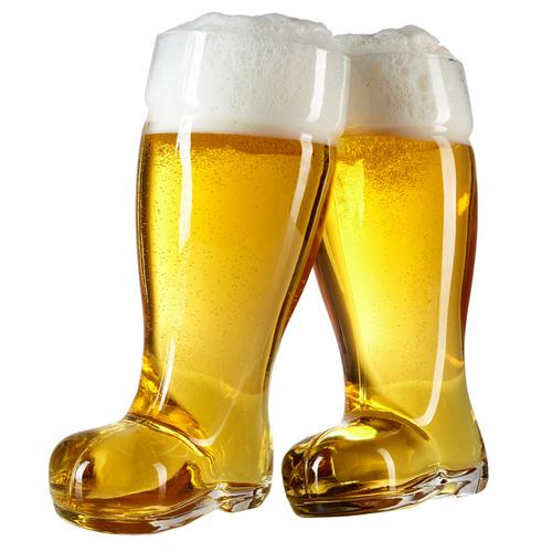 2 Liter Oktoberfest Beer Boots - Set of 2