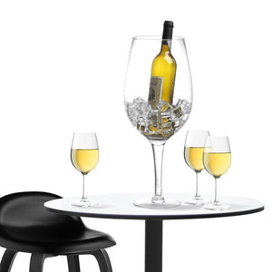 20 Inch Giant Clear Wine Glass Novelty Stemware / Champagne Magnum Chiller - MyGift Enterprise LLC