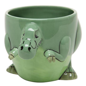 3-D Shaped T-Rex Dinosaur Design Ceramic Mug - MyGift Enterprise LLC