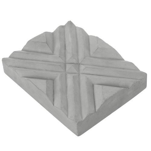 Modern Gray Concrete Hand Soap Dish Tray-MyGift