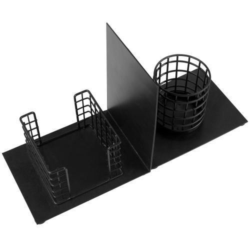 Desktop Space Saver Bookends with Office Organizer-MyGift