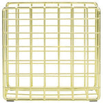 Gold Tone Metal Wire Napkin Holder-MyGift