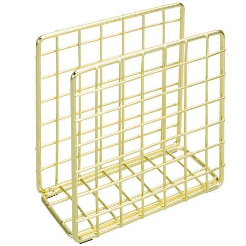 Gold Tone Metal Wire Napkin Holder - MyGift