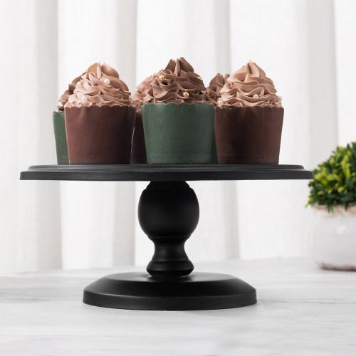 Mini Black Metal Cake & Dessert Stand