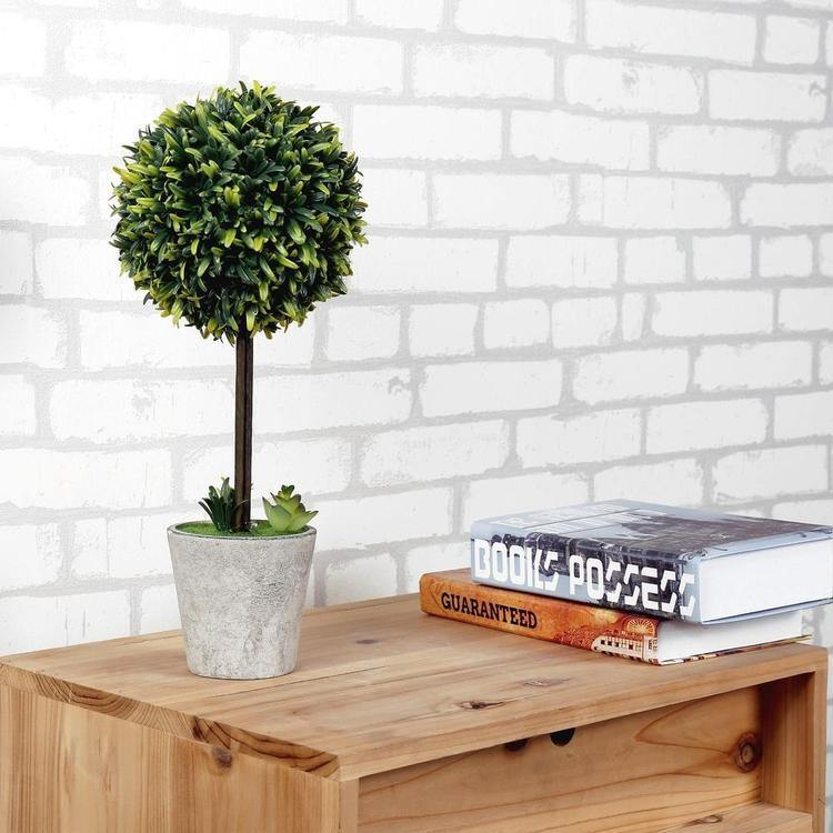 Artificial Boxwood Topiary Tree, Set of 2 - MyGift