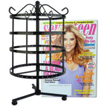 4 Tiers Black Rotating Spin Table 92 pairs Earring  / Jewelry Display Stand - MyGift Enterprise LLC