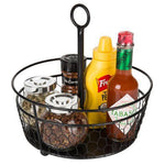 Chicken Wire Condiment Caddy, Set of 2
