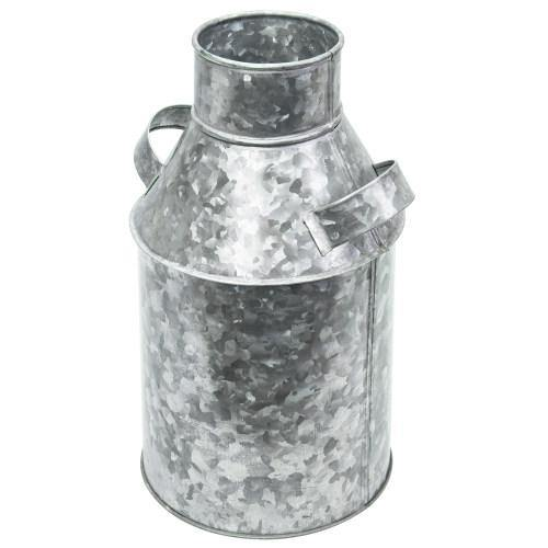 Galvanized Milk Can Style Vase with Handles - MyGift
