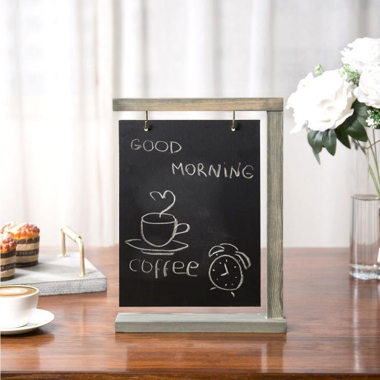 Hanging Tabletop Chalkboard Sign