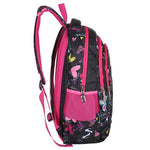 Hearts & Butterflies Print School Book Backpack