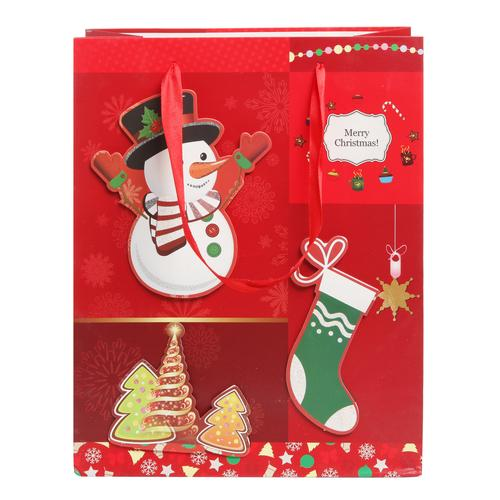 Holiday Gift Bags, Set of 6