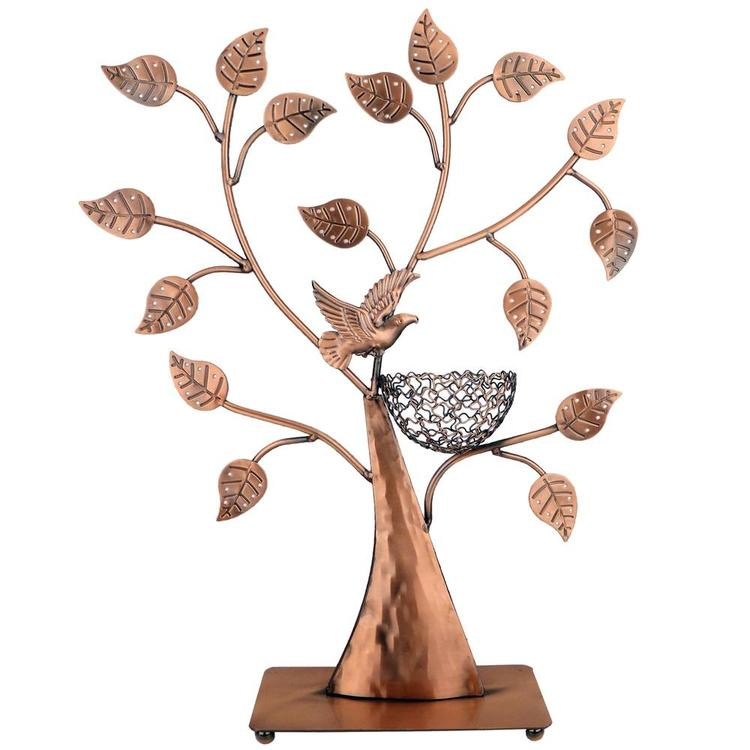 Jewelry Tree Necklace Holder with Bronze Finish