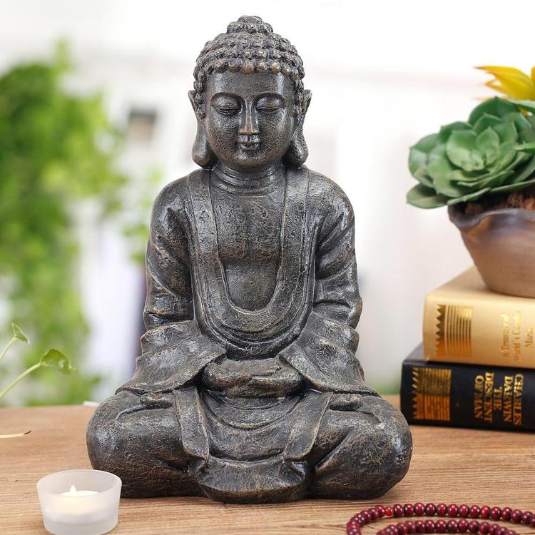 Meditating Seated Buddha Statue
