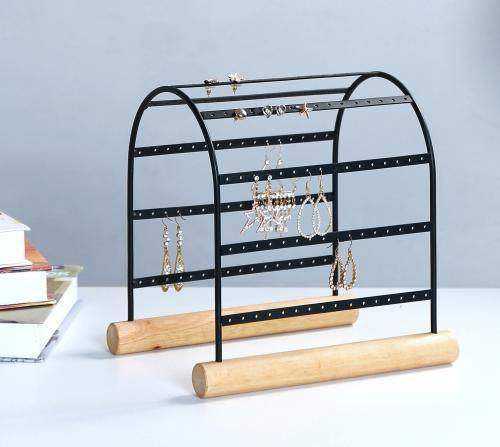 Modern Arched Design 72-Pair Earring Display Stand - MyGift