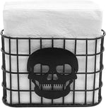 Skull Metal Wire Napkin Dispenser