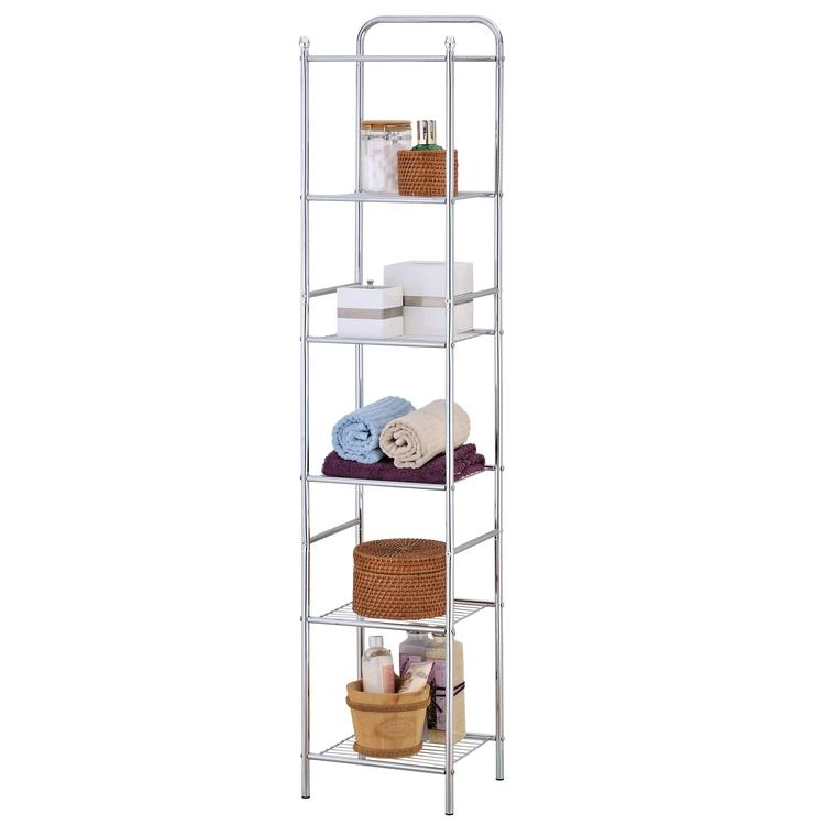 Stainless Steel Storage and Bathroom Shelf