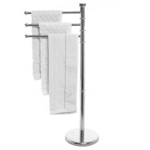 Stainless Steel Swivel Arm Towel Holder