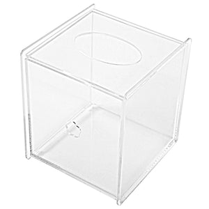Clear Acrylic Tissue Box Cover, Square-MyGift