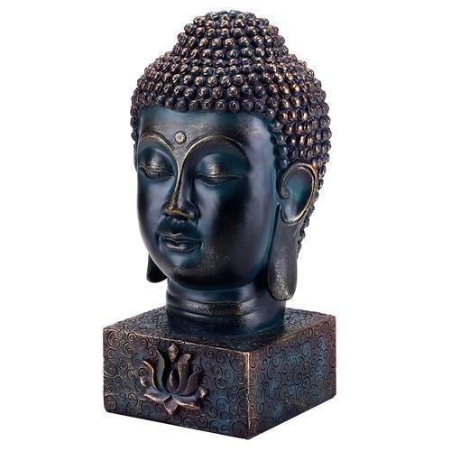 Buddha Bust with Lotus Display Base - MyGift