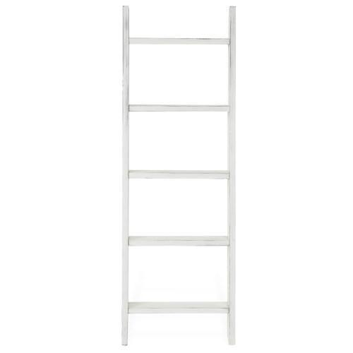 Vintage White Blanket Ladder - MyGift