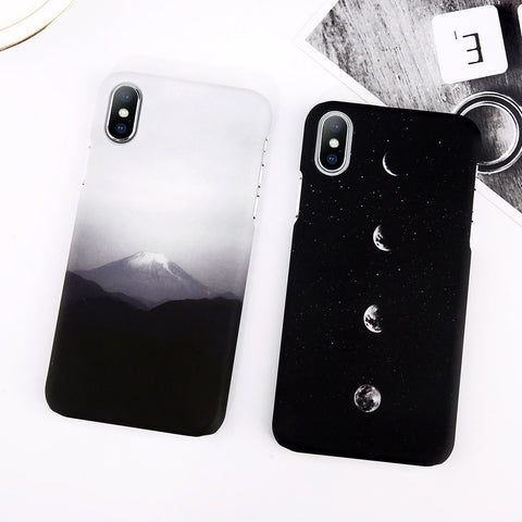 Mount Fuji x Moon Pattern iPhone X Case. Affordable, trendy and fashionable Mount Fuji and moon design for iPhone X lovers.If you love Mount Fuji and moon design casing, this nature iPhone X casing is surely a choice for a trendsetter like you. Mount Fuji x Moon Pattern iPhone X Case is perfect gift for friends and loveones who love natures. Get your iphone casing and accessories only at RCJR Supply.