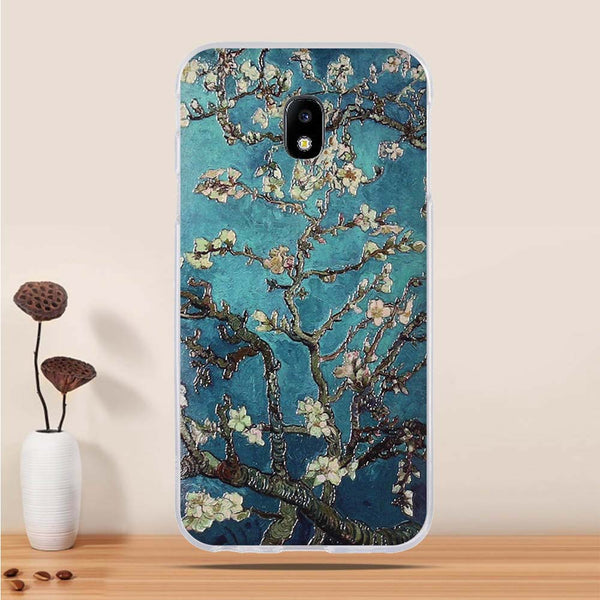 Spring Blossoms Soft Silicone Case for Samsung J Series.  Affordable, trendy and fashionable mobile phone case for Samsung J Series. Cool designs to fit your personality. Spring blossoms case is made of soft silicone that can protect your Samsung J phone from dirt and dust. Get your spring blossoms silicone case and accessories only at RCJR Supply.