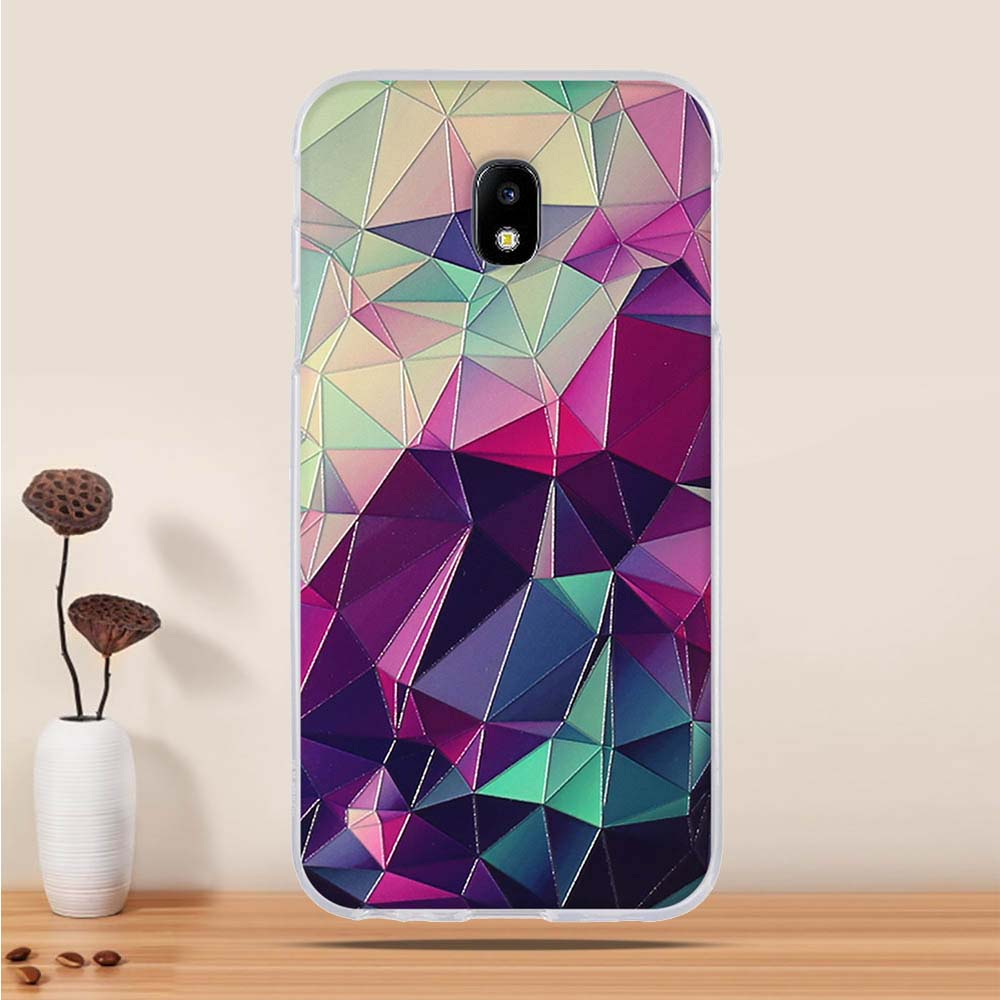 Abstract Soft Silicone Case for Samsung J Series, Samsung J3, J5, J7 (2017)