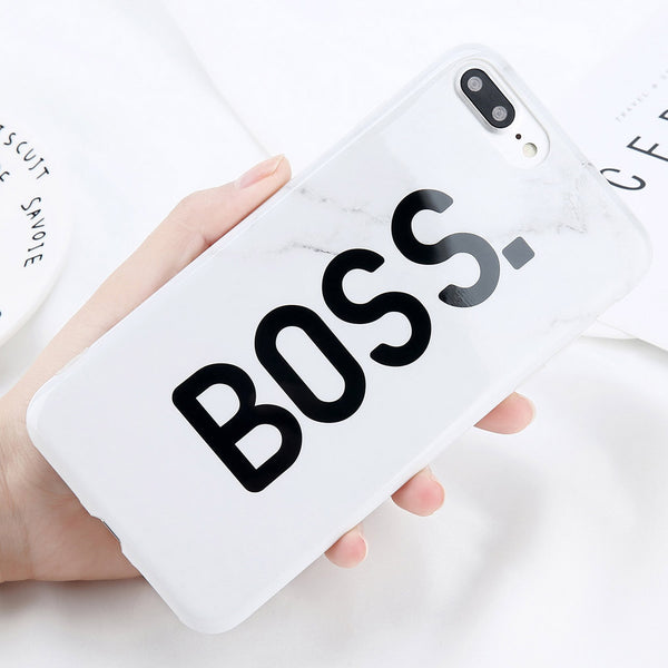 Boss x Queen Case for iPhone. Designed for iPhone 6/6s, iPhone 6/6s Plus, iPhone 7, iPhone 7 Plus, iPhone 8/8 Plus & iPhone X. Affordable and trendy iphone case with Boss x Queen Case for iPhone lovers. Boss x Queen Case for iPhone suit your cool and classic style. Get your Boss x Queen Case for iPhone at RCJR Supply