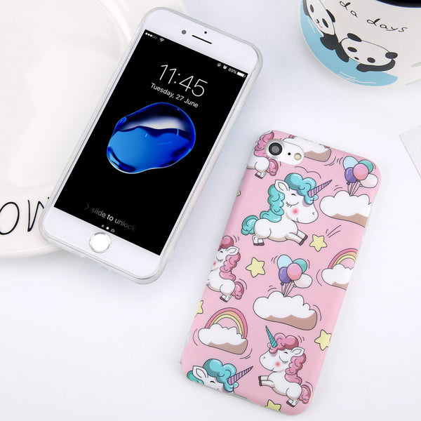 Candy Color Unicorn Case for iPhone. Designed for iPhone 6/6s, iPhone 6/6s Plus, iPhone 7, iPhone 7 Plus only. Affordable, trendy and cute unicorn design for iPhone lovers. Candy Color Unicorn Case for iPhone suit your cool and trendy personality. Our Candy Color Unicorn Case for iPhone comes in different colors.Get your Candy Color Unicorn Case for iPhone at RCJR Supply.