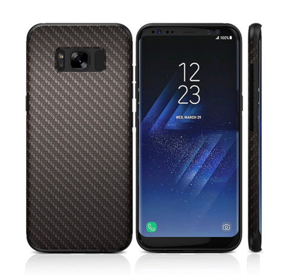 Carbon Fiber Armor Soft Case for Samsung S8 Series. Affordable, trendy and fashionable mobile phone case for Samsung S8 Series. Cool designs to fit your personality. Carbon Fiber Armor Soft Case for Samsung S8 Series is scratch resistant, perfect for everyday use. It is slim and handy for an outgoing person like you. Get your Book Flip Card Holder Case for Samsung S8 Series and accessories only at RCJR Supply.