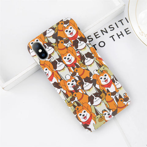 Cartoon Colored Dogs Case for iPhone. Designed for iPhone 6/6s, iPhone 6/6s Plus, iPhone 7, iPhone 7 Plus, iPhone 8/8 Plus & iPhone X. Affordable and trendy iphone case with Cartoon Colored Dogs Case for iPhone and dog lovers. Cartoon Colored Dogs Case for iPhone suit your cool and artistic style. Get your Cartoon Colored Dogs Case for iPhone at RCJR Supply.