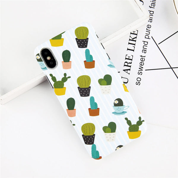 Colorful Pattern Cactus Case for iPhone. Design Case for iPhone 6/6s, iPhone 6/6s Plus, iPhone 7, iPhone 7 Plus, iPhone 8, iPhone 8 Plus & iPhone X. Affordable, trendy and unique Phone Case for iPhone & cactus lovers. Colorful Pattern Cactus Case for iPhone suits cool and trendy style. Colorful Pattern Cactus Case for iPhone at RCJR Supply.