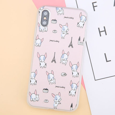 Cute Animal Soft Case for iPhone X.  Affordable, trendy and colorful animal design for iPhone lovers. Our trendy and fashionable iPhone cases suit from all ages and gender all over the world.Get your iphone casing and accessories only at RCJR Supply.