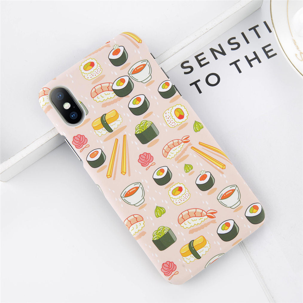Cute Cartoon Sushi Pattern Case for iPhone. Designed for iPhone 6/6s, iPhone 6/6s Plus, iPhone 7, iPhone 7 Plus, iPhone 8/8 Plus & iPhone X. Affordable and trendy iphone case with Cute Cartoon Sushi Pattern Case for iPhone & cartoon lovers. Cute Cartoon Sushi Pattern Case for iPhone suit your cool and artistic style. Get your Cute Cartoon Sushi Pattern Case for iPhone at RCJR Supply.