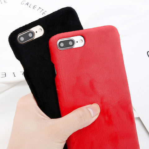 Furry Warm Case for iPhone. Design Case for iPhone 6/6s, iPhone 6/6s Plus, iPhone 7, iPhone 7 Plus, iPhone 8 and iPhone 8 Plus. Affordable, trendy and cool design for iPhone lovers. Furry Warm Case for iPhone suit your cool and trendy style. Our Furry Warm Case for iPhone comes in different colors.Get your Furry Warm Case for iPhone at RCJR Supply.