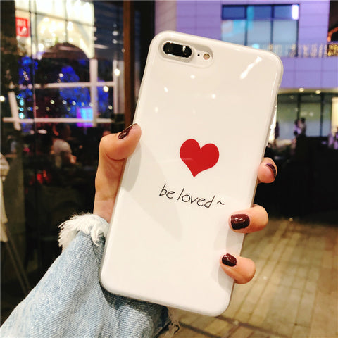 Glossy Lovely x Be Loved Case for iPhone. Design Case for iPhone 6/6s, iPhone 6/6s Plus, iPhone 7, iPhone 7 Plus, iPhone 8, iPhone 8 Plus & iPhone X. Affordable, trendy and unique Glossy Lovely x Be Loved Case for iPhone lovers. Glossy Lovely x Be Loved Case for iPhone suits cool and trendy style.Get your Glossy Lovely x Be Loved Case for iPhone at RCJR Supply