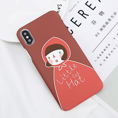 Little Red Girl Case for iPhone. Design Case for iPhone 6/6s, iPhone 6/6s Plus, iPhone 7, iPhone 7 Plus, iPhone 8, iPhone 8 Plus & iPhone X. Affordable, trendy and unique design for iPhone lovers. Little Red Girl Case for iPhone suit cool and trendy style.Get your Little Red Girl Case for iPhone at RCJR Supply.