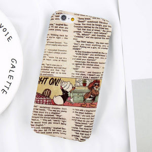 Newspaper Style Case for iPhone. Design Case for iPhone 6/6s and iPhone 6/6s Plus only. Affordable, trendy and cool design for iPhone lovers. Newspaper Style Case for iPhone suit your cool and trendy style.Get your Newspaper Style Case for iPhone and accessories only at RCJR Supply.