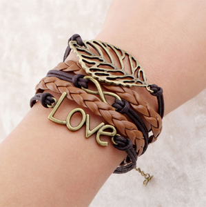 Multi Layer Love Bracelet. Affordable,trendy and fashionable multi layer love bracelet. Our trendy and fashionable bracelets are perfect accessory for your outfit.Our multi layer love bracelet bangles will surely match for a trendsetter like you.Be glamorous wearing our multi layer love bracelet that comes in variety of colors! Get your fashionable bangles and accessories only at RCJR Supply.