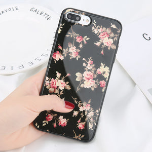 Retro Rose Flower Case for iPhone. Design Case for iPhone 6/6s, iPhone 6/6s Plus, iPhone 7, iPhone 7 Plus, iPhone 8, iPhone 8 Plus & iPhone X. Affordable, trendy and unique flowery design for iPhone lovers. Retro Rose Flower Case for iPhone suit cool and chic style.Get your Retro Rose Flower Case for iPhone for iPhone at RCJR Supply.