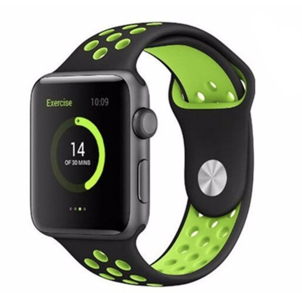 Looking for cheaper Silicone Sports Band for Apple Watch? You can now replace your old Apple Watch band/, iWatch strap and iwatch band today and choose from variety of colours to suit your mood. Affordable and high quality Silicone Sports Band for Apple Watch. Choose from different colour tones to match your daily outfit.