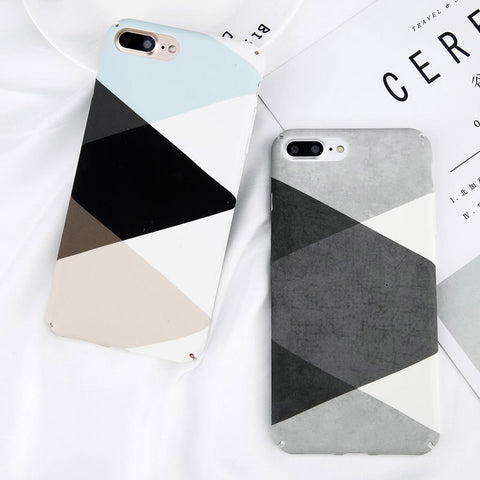 Triangle Geometric Case For iPhone. Design Case for iPhone 6/6s, iPhone 6/6s Plus, iPhone 7, iPhone 7 Plus, iPhone 8 and iPhone 8 Plus. Affordable, trendy and cool design for iPhone lovers. Triangle Geometric Case For iPhone suit your cool and stylish fashion. Our Triangle Geometric Case For iPhone comes in different colors.Get your Triangle Geometric Case For iPhone at RCJR Supply.