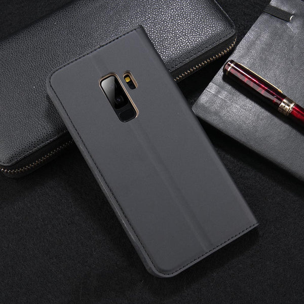 Get a Wallet Style Case for your Samsung S9 Series.  We provide different trendy and cool Wallet Style Case for Samsung S9 Series. Wallet Style Case for Samsung S9 Series is designed for Samsung S9, S9 Plus. This wallet case suit for all ages and gender. Get your Wallet Style Case for Samsung S9 Seriesnow at RCJR Supply.