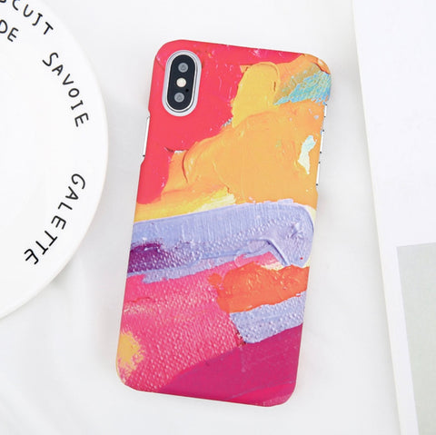 Watercolor Paint Case for iPhone. Design Case for iPhone 6/6s, iPhone 6/6s Plus, iPhone 7, iPhone 7 Plus, iPhone 8, iPhone 8 Plus & iPhone X. Affordable, trendy and unique design for iPhone lovers. Watercolor Paint Case for iPhone suit cool and chic style.Get your Watercolor Paint Case for iPhone at RCJR Supply.