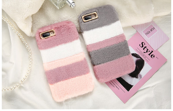 Fur Warm Velvet Smooth Touching Case for iPhone designed for iPhone 6/6s, iPhone 6/6s Plus, iPhone 7, iPhone 7 Plus, iPhone 8/8 Plus & iPhone X Affordable and trendy iPhone case.  Made of high quality fur and silicone. Get your Fur Warm Velvet Smooth Touching Case for iPhone  at RCJR Supply.