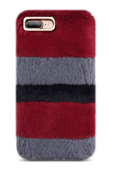 Fur Warm Velvet Smooth Touching Case for iPhone