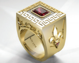Power Ring ( Solid Gold )