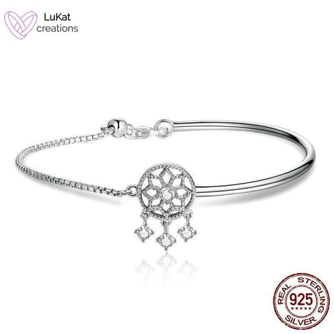 LuKat Dream Catcher Bangle Bracelet