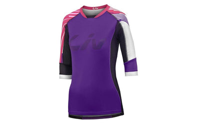 Liv Tangle ¾ Off-Road Jersey Purple/Fuchsia